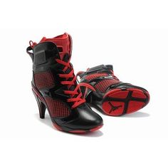 Cheap womens jordan high heels are good gifts for your wife. We provide you with the best quality of jordan high heels - Jordan 6 High Heels Black Red,only $65.89 . Don't hesitate to buy from our site: www.jordansale2013.com!