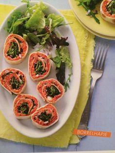 Wraps - filet americain - 1/2 ui - sla - komkommer