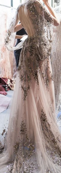Zuhair Murad Fall 2017 Haute Couture @GorgeousFashion #ad