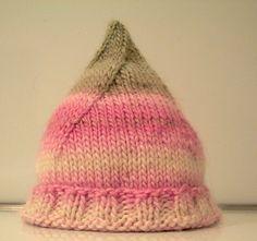 pixie hat by z's momma ~ free pattern