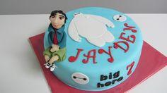Big Hero 6 taart