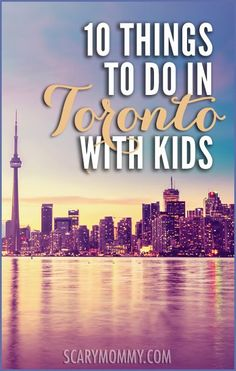Looking for Things to See and Do with Kids in Toronto? You're in luck! Who better to give you the inside scoop than a MOM who lives there already?!?!