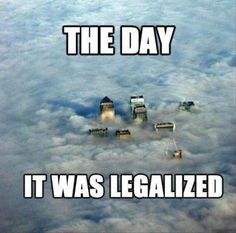 The first day when it was legalized in Uruguay