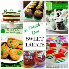St. Patrick's Day Sweet Treats - Organized Island