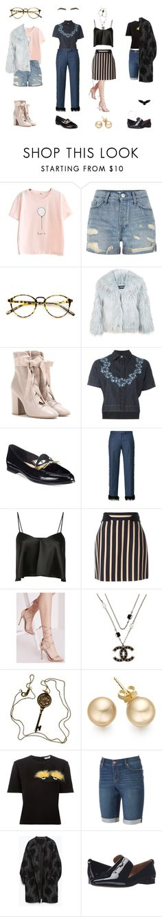 """""""Ah Day 1"""" by jennerfurr on Polyvore featuring River Island, INDIE HAIR, Miss Selfridge, Valentino, Dsquared2, Kate Spade, Marco de Vincenzo, Brandon Maxwell, Emanuel Ungaro and Missguided"""