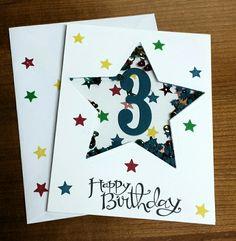 3rd birthday shaker