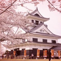 Castle of Sakura taken on Chiba Prefecture, Japan