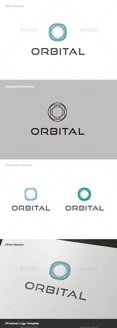 Orbital Abstract  Logo Design Template Vector #logotype Download it here: http://graphicriver.net/item/orbital-abstract-logo/578043?s_rank=596?ref=nexion