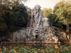 Colosso dell'Appennino (Appennine Colossus) : Villa Demidoff di Pratolino, Vaglia,Italy