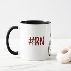 #nurse - #mug for nurses- RN