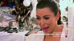 Kim Kardashian is the best ugly crier ever.