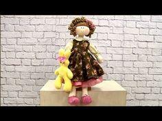 Curso online: Boneca Bruna com Vivi Prado www.atelienaweb.com.br