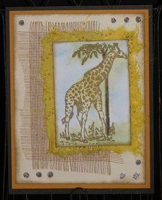 QKD - GI May Giraffe Card