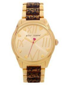 Betsy Johnson watch I really really want...need this watch