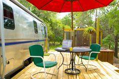Super Cute Retro Airstream - Camping-cars/caravanes à louer à Wimberley