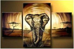 STRONG INDEPENDENT & TRUE THIS ELEPHANT STANDS ALONE IN THE DESERT WALKING TOWARDS THE VIEWER. A SIMPLE PIECE THAT SPEAKS VOLUMES TO THE POWER OF THE MAJESTIC ELEPHANT. - THIS MODERN ART PIECE IS HAND