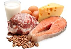 Picture of foods high in naturally occurring fat.