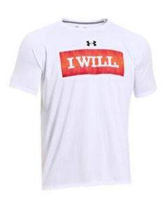 UNDER ARMOUR I Will T-shirt