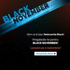 Ne pregatim de Black November! 😊 Pana atunci, hai sa vezi PRIMELE REDUCERI! 🧐