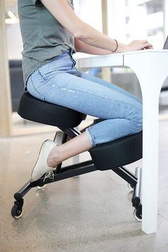 The most comfortable computer chairs available online. Ergonomic office chairs, leather gaming chairs, and mid-century task chairs for your home or office desk. Ergonomic Computer Chair, Ergonomic Chair, Stool With Wheels, Office Chairs For Sale, Office Stool, Ergonomic Kneeling Chair, Adjustable Stool, Dining Chair Slipcovers, Chairs