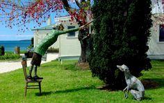 NZ Sculpture OnShore 2012: November 8th -18th, Fort Takapuna, Devonport