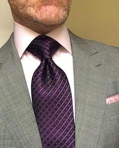 Mens Fashion Blazer, Stylish Mens Fashion, Suit Fashion, Tie A Necktie, Men Closet, Savile Row, Classy Men, Men Formal, Tie And Pocket Square