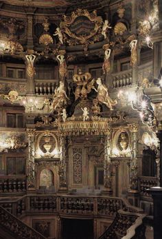 The Margravial Opera House in Bayreuth    1744-1748 by Carlo and Giuseppe Galli Bibiena    On 30 June 2012 the opera house was inscribed in the UNESCO World Heritage List