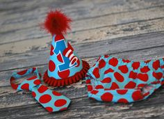 party hats for boys | Boys Birthday Party Hat, Diaper Cover and Tie - Perfect for First ...