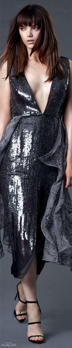 Rosamaria G Frangini | Sparkly Desire | Shine&Sparkle | Dennis Basso Resort 2017