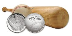 2014 National Baseball Hall of Fame Clad Half-Dollar - No Longer Available