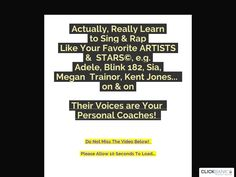 Try Actually, Learn To Sing And Rap Like Your Favorite Artists And Stars Now- http://www.vnulab.be/lab-review/actually-learn-to-sing-and-rap-like-your-favorite-artists-and-stars