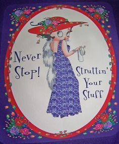 Find everything but the ordinary Birthday Card Sayings, Birthday Cards, Red Hat Ladies, Red Hat Society, Red Purple, Purple Dress, Purple T Shirts, Red Hats, Girl With Hat