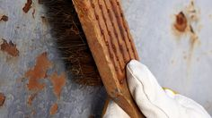 Here are 5 effective methods to remove rust from metal.