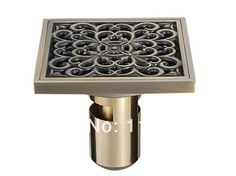 shower-drain-bronze-square-antique-bronze-shower-drain-floor-drain-bathroom-100mm-100mm-dl123_347495.jpg (350×262)