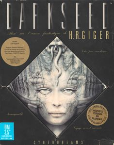 Box art by H. R. Giger | 1992 | Cyberdreams.
