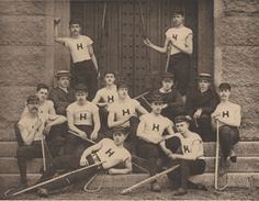 Harvard University lacrosse team, 1885