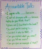 Accountable Talk...Anchor Chart