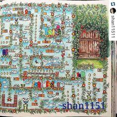 OMG Labirinto Incrivel Do Super Mario By Shan11511 Secretgarden Secretgardencoloringbook