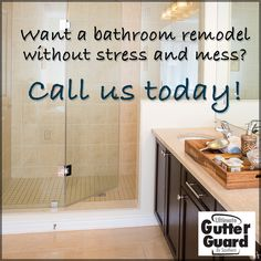 Want to transform the look of your bathroom without having to spend thousands and thousands of dollars and without having to deal with weeks and weeks of construction and mess? Call us and we will tell you how. #BathroomRemodelAtlanta #BathroomRemodelBirmingham