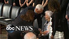 Roberta McCain, 106, attends son John McCain's Washington services Abc News, American History, Sons, Washington, Youtube, Movie Posters, Us History, Film Poster, My Son