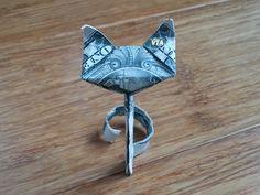 Money Origami SKINNY CAT