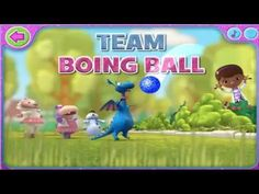 Disney's Doc McStuffins - Sparkly Ball Sports Team Boing Ball - YouTube