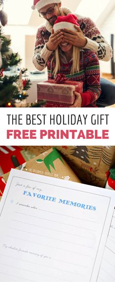 Here's a powerful gift from the heart, not a shopping cart! Get the free printable, fill it out with your favorite memories of your loved one, and wrap it up for a heartfelt (but no-cost) DIY Christmas gift. Perfect for your spouse, parents, grandparents, kids, or even teachers!