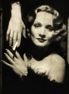Marlene Dietrich - 1932. I have always admired her...