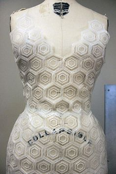 dress at School of Art Institute of Chicago SAIC:Join the Printing Conversation: 3d Fashion, Fashion Prints, Fashion Design, Impression 3d, 3d Printed Dress, Mode 3d, 3d Printing Industry, 3d Printed Objects, 3d Printing Service