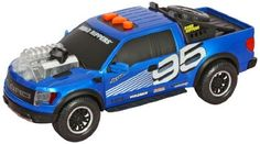 Toystate Road Rippers Lightning Rods: Ford F150 Raptor SVT by Toystate. $27.99. Push the buttons for a powerful motorized drive, lights and sounds. Oversized, color change technology engine lights up the night. 3 AA batteries included. Features the new Ford F-150 Raptor SVT. From the Manufacturer                New from Road Rippers, the industry leading maker of action packed lights and sounds cars and trucks, the new Ford F-150 Raptor SVT Lightning Rod. Get rea...