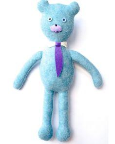 Ursuletul corporatist    #Huggables   handcrafted by Pravalia cu Papusi Smurfs, Dinosaur Stuffed Animal, Toys, Animals, Fictional Characters, Accessories, Art, Character, Activity Toys