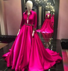 """Henri's on Instagram: """"Is fuchsia your signature color? This Jovani Couture gown could be for you! It's exclusively available at Henri's…"""""""