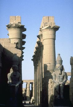 Ruins of Luxor, Egypt