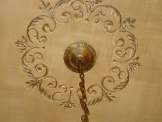 images of ceiling stencils | ... images of hand painted ceiling medallions -- lots of inspiration